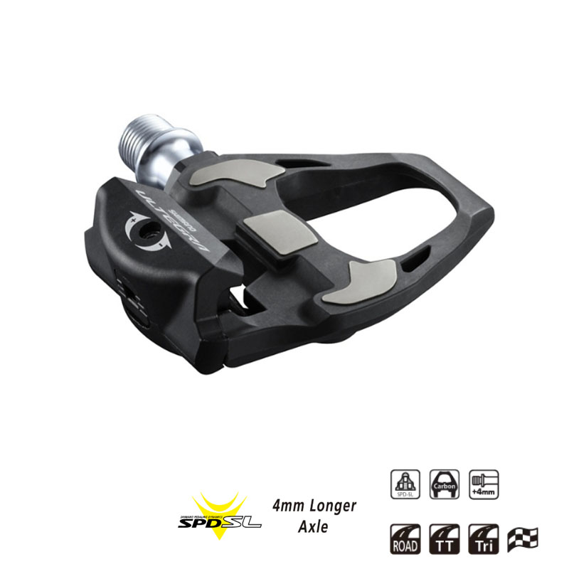Shimano Ultegra PD-R8000 Carbon Fiber Road Bike Pedal with SM-SH11 Cleats