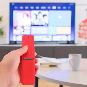 Image 2 - Étui de protection à distance en Silicone pour Samsung QLED Smart TV couverture de protection complète télécommande intelligente BN59 01265A TV pour Samsung
