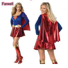 Sexy Adult Costume Dress Girls Cosplay Party Super-Hero Female New