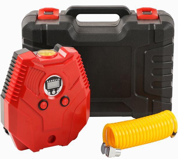 Vehicle Air Pump Car for Portable High Pressure Electric Single Cylinder 12V Passenger Car Tire Emergency Pump|  - title=