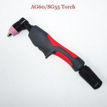 AG60 Torch Inverter Plasma Cutter Gun Plasmasnijtoorts Hand Gebruik Hoofd Luchtgekoelde SG55 60A Plasmasnijtoorts