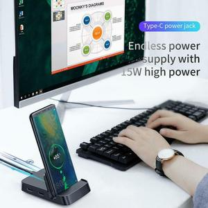 Image 2 - 新しい usb タイプ c ハブドッキングサムスンギャラクシー S10 S9 dex パッドステーション USB C hdmi ドック電源アダプタ huawei 社 P30 P20 プロ