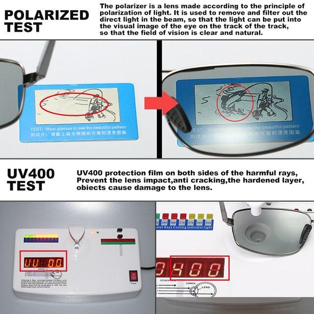LIOUMO Top Photochromic Sunglasses Men Women Polarized Chameleon Glasses Driving Goggles Anti-glare Sun Glasses zonnebril heren 6