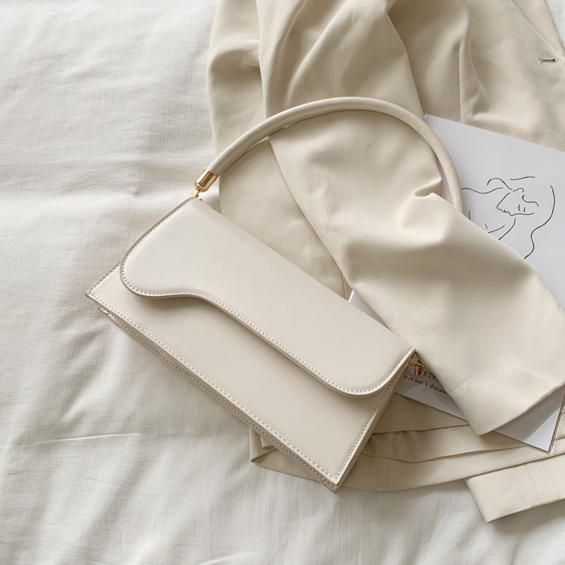 Simple Style Small PU Leather Crossbody Bags For Women 2020 Elegant Baguette Bag Shoulder Handbags Female Travel Hand Bag