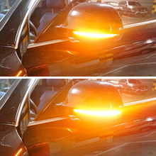 For Audi A4 A5 B8 S4 S5 Q3 SQ3 A3 8P A6 C6 4F S6 A8 D3 8K LED Dynamic Turn Signal Blinker Sequential Side Mirror Indicator Light(China)
