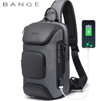 Anti-theft New Multifunction Crossbody Bag for Men Shoulder Messenger Bags Male Waterproof Short Trip Chest Pack