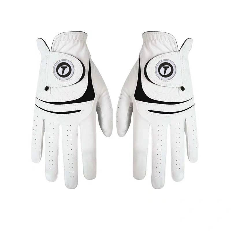 Перчатки для гольфа из овчины мужские перчатки для гольфа FJ перчатки для гольфа удобные дышащие износостойкие перчатки для гольфа