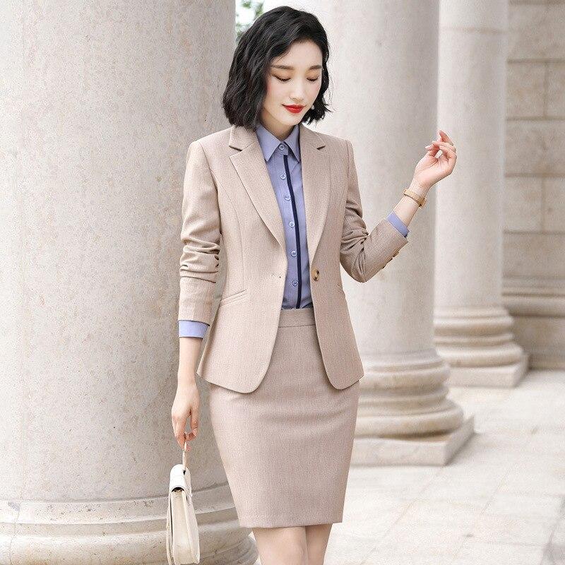 Formal Wear Women's Suits Business Women's 2019 Autumn New Business Fashion Korean Temperament Overalls Suit Suit