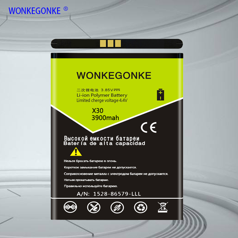 WONKEGONKE For Doogee BAT17613360 <font><b>battery</b></font> <font><b>X30</b></font> <font><b>Battery</b></font> High quality mobile phone <font><b>battery</b></font> with tracking number image
