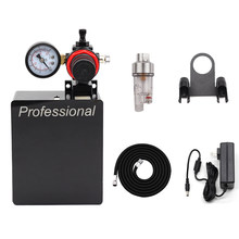 Professional Dual Action Airbrush Air Compressor With Pressure Switch Control Valve Air Brush Paint Spray Gun For Nail Art Make(China)
