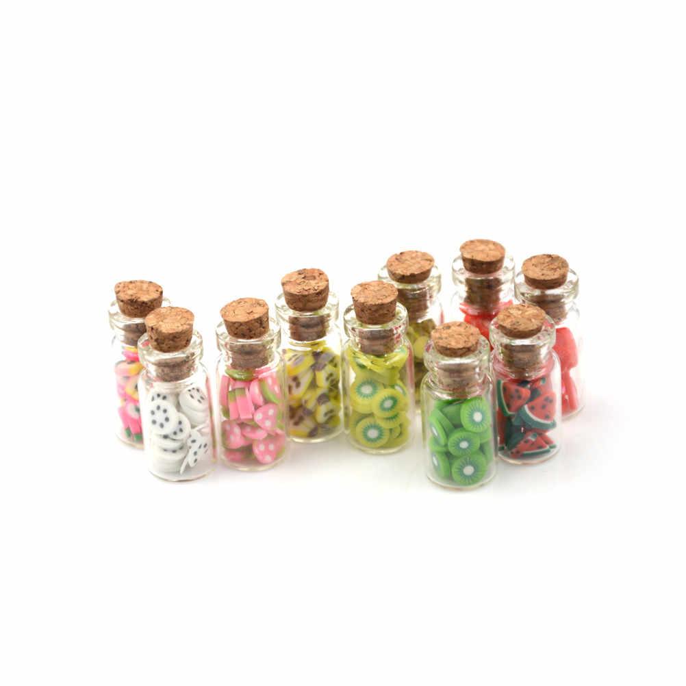 Dla 1/12 domek dla lalek miniaturowe akcesoria Mini Nutella dżem imitacja wyposażenia do kuchni do jedzenia przyprawa zabawki lalki wystrój domu
