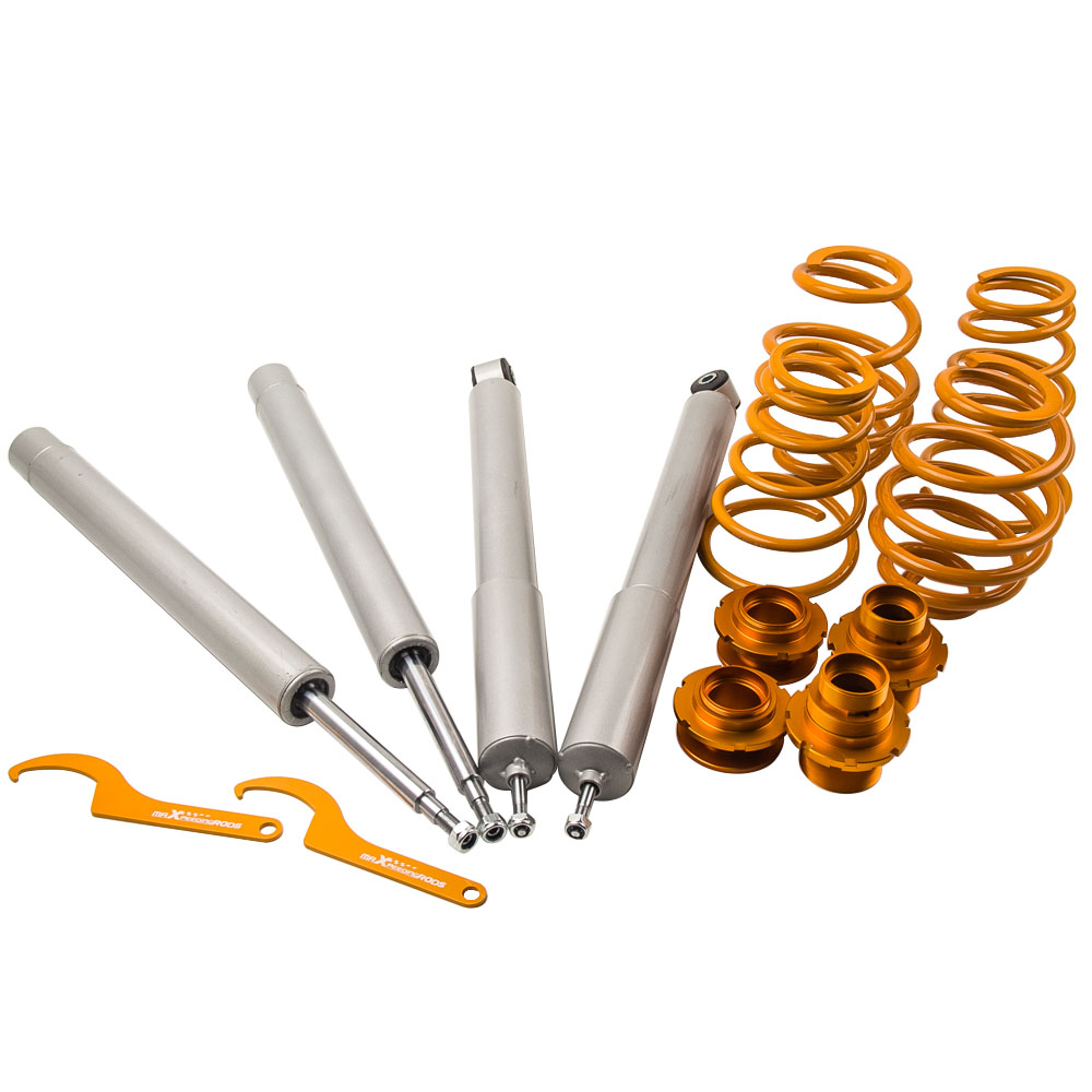 <font><b>COILOVERS</b></font> for <font><b>BMW</b></font> 3 Series <font><b>E30</b></font> 316 318i 88-99 Coil Springs 51mm front inserts Suspension Shock Absorbers Struts image