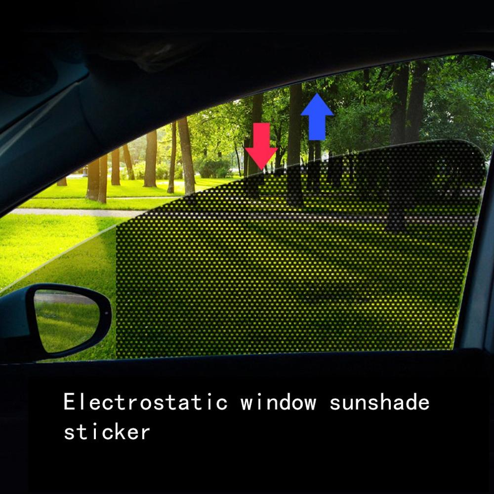 Sunscreen-Curtain Film Car-Sticker Glass Sun-Shade Sun-Block Window Heat-Insulation
