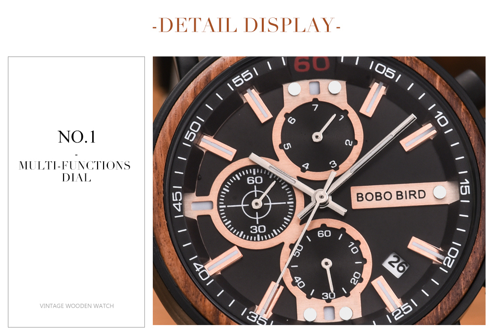 BOBO BIRD Personalized Wooden Watch Men Relogio Masculino Top Brand Luxury Chronograph Military Watches Anniversary Gift for Him Hfcf2c86918734906aa17eae1e7315d99C