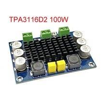 XH M542 DC 12 26V 100W TPA3116DA מונו ערוץ דיגיטלי כוח אודיו מגבר TPA3116D2 לוח