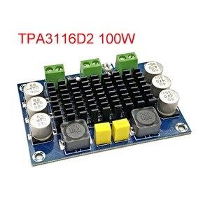 Image 1 - XH M542 dc 12 26v 100w tpa3116da mono canal amplificador de áudio de potência digital tpa3116d2 placa