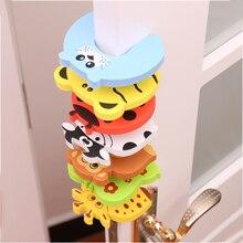 Door-Stopper-Holder Doorknob Finger-Protecter Door-Crash-Pad Children Shockproof 5pcs/Set