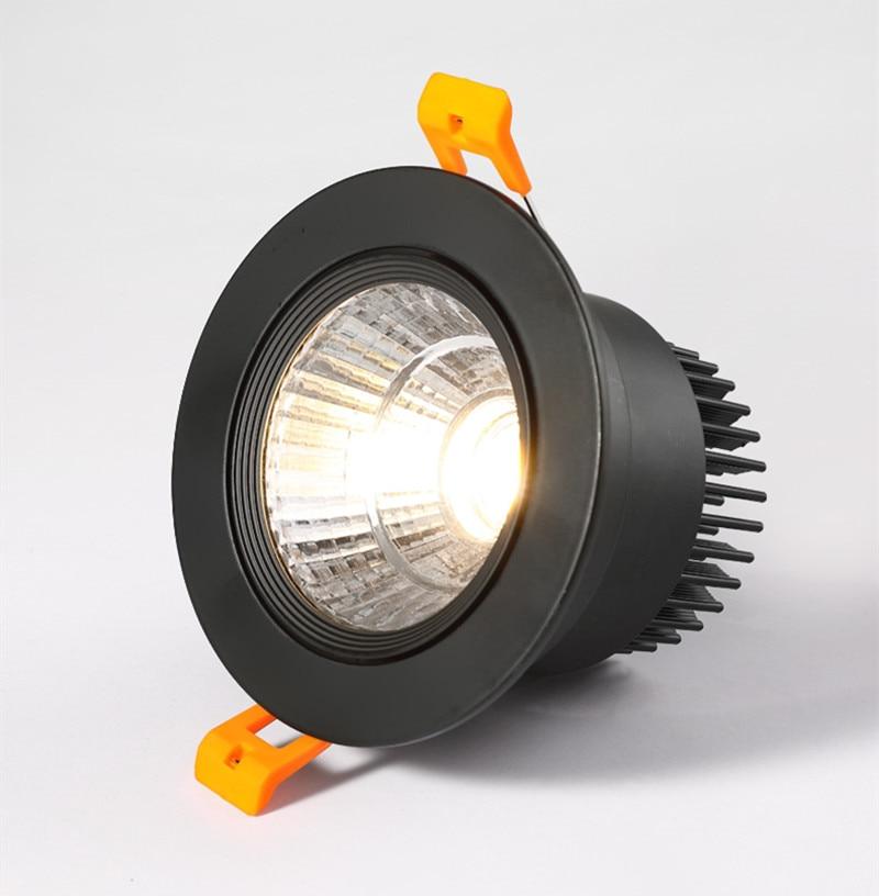 Dimbare AC110V-220V 5W7W9W12W15W18W20W Plafond Downlight Epistar Led Inbouw Plafond Lamp Spot Licht Voor Thuis Verlichting 3