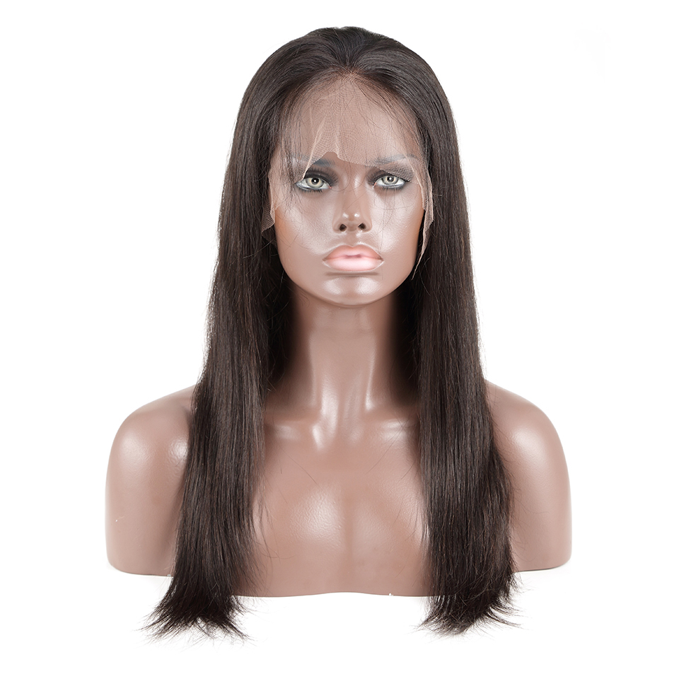 Luvin OneCut Hair Full Lace Wigs Human Hair Wigs With Baby Hair Pre Plucked Brazilian Straight Wigs For Women