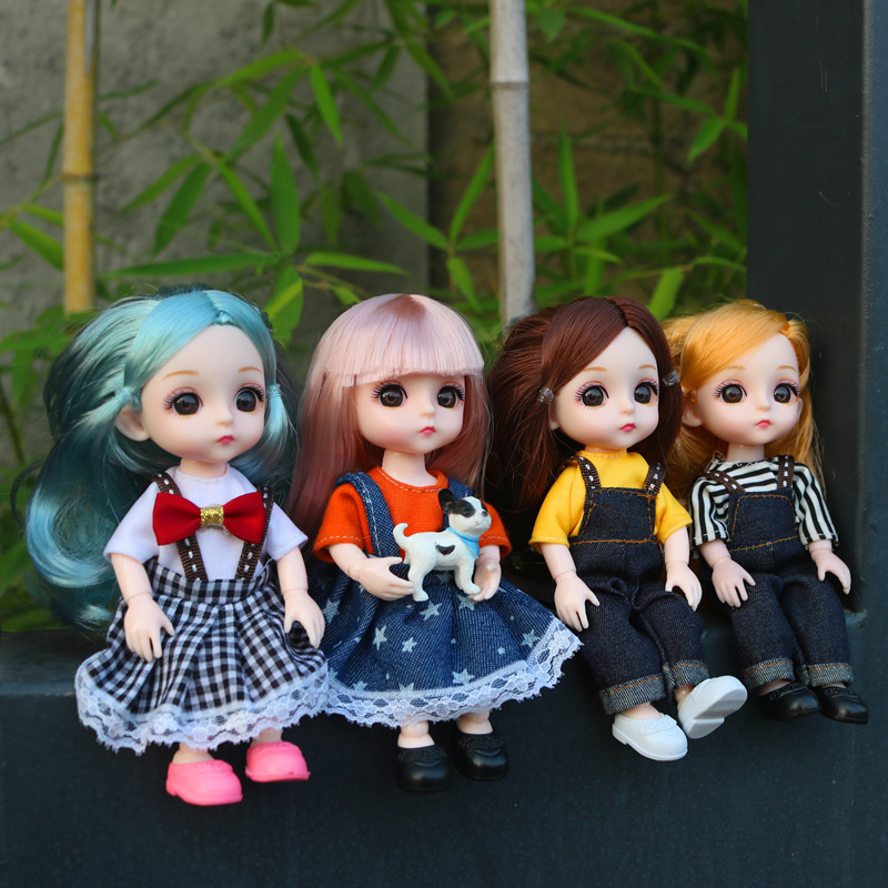 BjD 16CM Doll 13 Movable Joints Casual Fashion Princess Clothes Suit Accessories Nude Decoration Multicolor Hair Girl Gift Toy Dolls & Accessories cb5feb1b7314637725a2e7: 1 2 3 4 A B C D E F G H I J K L M