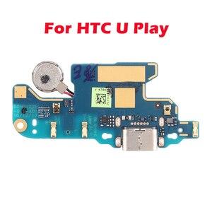Image 4 - Для HTC U Ultra плата с зарядным портом для HTC U Play Phone Flex замена кабелей Parts плата зарядного устройства с USB Dock