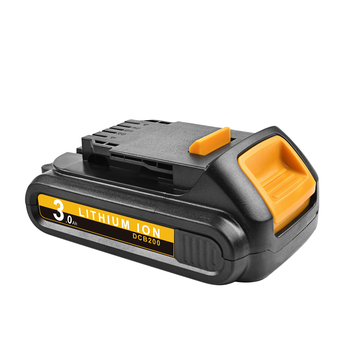 18V 3000mAh DCB200 Li-ion Rechargeable Power Tool Battery For DEWALT DCB203 DCB181 DCB180 DCB200 DCB201 DCB201-2 L10 18v 3000mah dcb200 li ion rechargeable power tool battery for dewalt dcb203 dcb181 dcb180 dcb200 dcb201 dcb201 2 l10