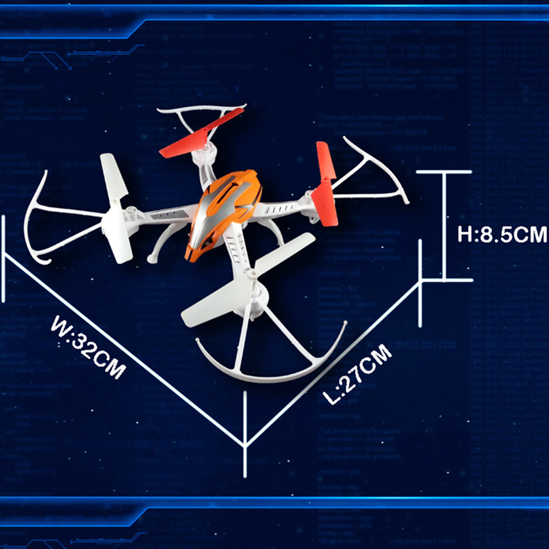 Four-Rotor Unmanned Aerial Vehicle High-definition Aircraft For Areal Photography Large Size Four-axis Remote Control Aircraft D