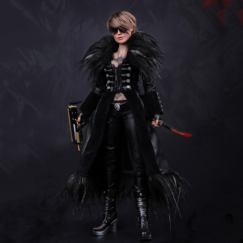 1/6 Scale GK008 Spade 6 Ada US Machete <font><b>Gangster</b></font> <font><b>Kingdom</b></font> Vicious Spicy Women Bully Costume for 12