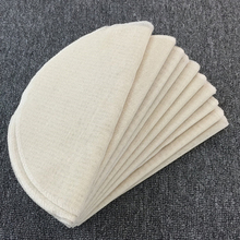 Bread-Mat Cloth Cheese-Dia for Round White Cotton 30cm 50cm-Size S-L 5pcs Steam-Pot