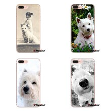 For LG G3 G4 Mini G5 G6 G7 Q6 Q7 Q8 Q9 V10 V20 V30 X Power 2 3 K10 K4 K8 2017 Westie dog Soft Transparent Cases Covers(China)