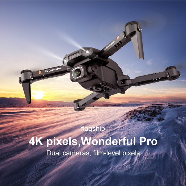 Mini Drone 4K Professional Dual HD Camera 3