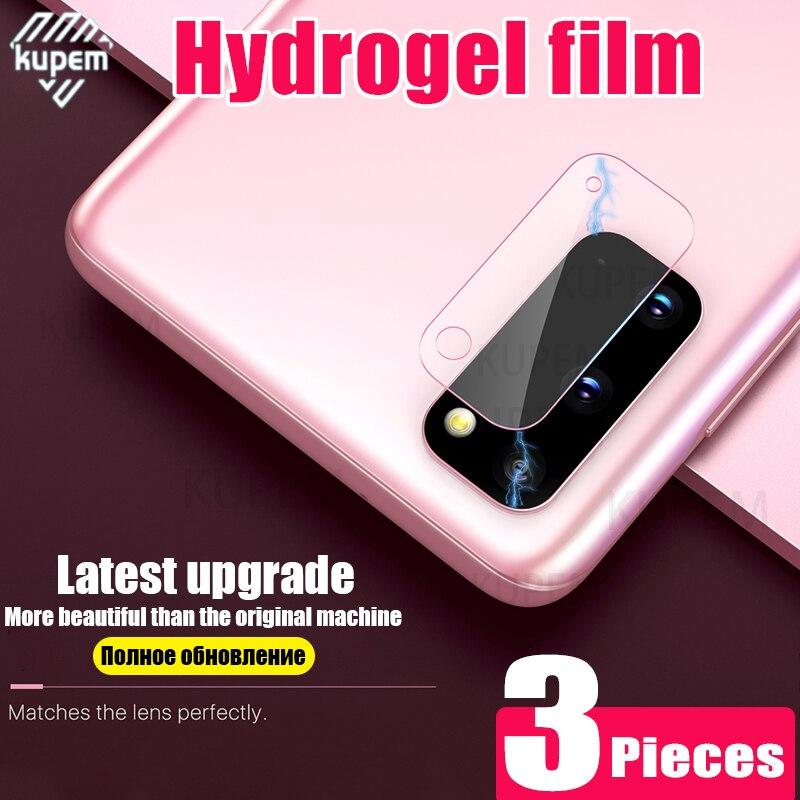 Защитная пленка для задней камеры для Samsung Galaxy Note 8 9 10 S20 Ultra S9 S8 S10 Plus, Гидрогелевая мягкая защитная пленка для объектива S 20