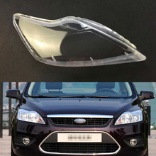For Ford Focus 2009 2010 2011 Car Headlight Clear Lens Shell Cover Auto Transparent Lampshade Headlight Shell Headlamp Cover
