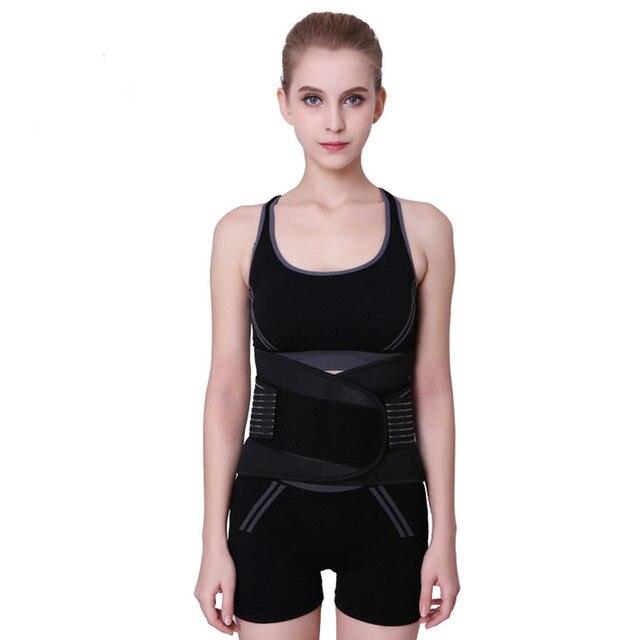 TJ-TingJun Waistband Waist Protection Sweat Belt Slimming Women /Men Waist Back Support Fitness Trimmer Waist Made of Neoprene 2