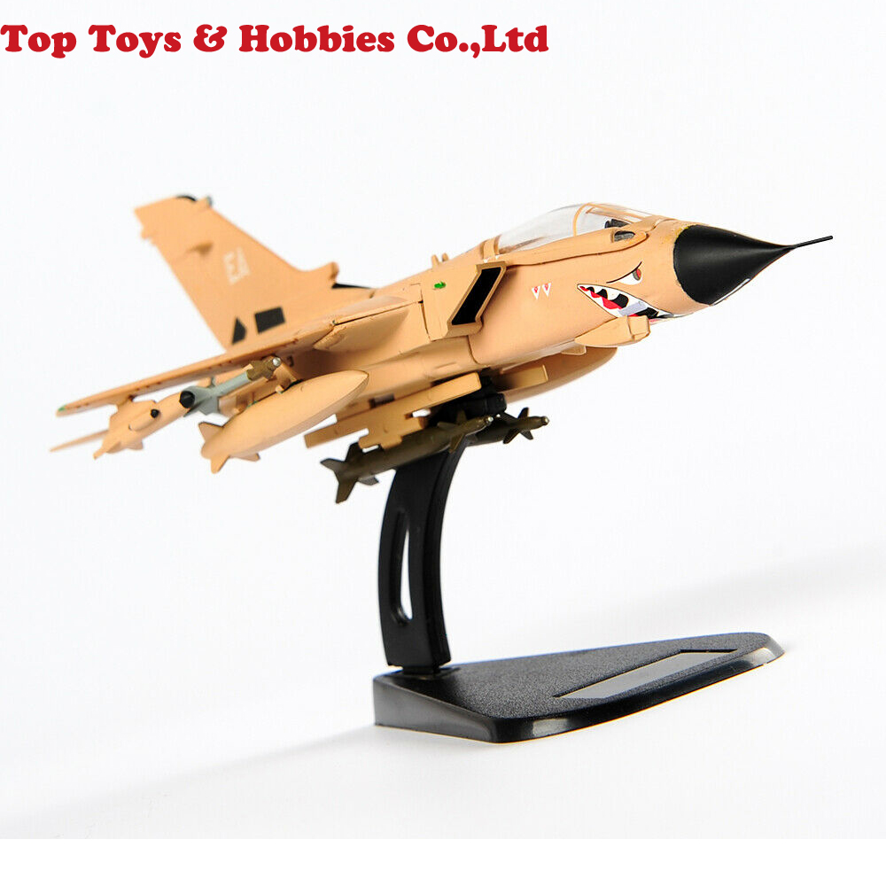 Kids Toys ITALERI 1:100 Tornado IDS Aircraft Airplane Model UK Strong Wind Fighter Toy Model For Collection Boy Gift