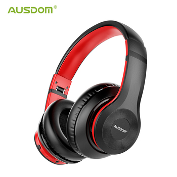 AUSDOM NEW ANC10 V5.0 Wireless Bluetooth Headphones Active Noise Cancelling Wireless Earphone Sports Headset With Mic for PC