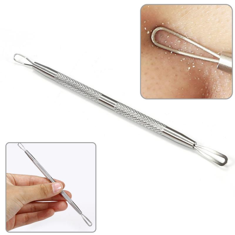 1 Pcs Stainless Steel Acne Removal Needle Pimple Blackhead for Face Removing Black Dot Cleaning Pore