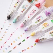 Kawaii Animals cat Press Type Decorative Correction Tape Scrapbooking Diary Stationery School Supply