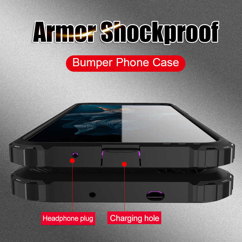 Luxury Shockproof Armor Case For Huawei Honor 20 Pro 10 9 Lite Full Protective Cover For Honor 10i 8X Phone Bumper Cases Shell