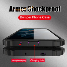 Luxury Shockproof Armor Case For Huawei Honor 20 Pro 10 9 Lite Full Protective Cover For Honor 10i 8X Phone Bumper Cases Shell()