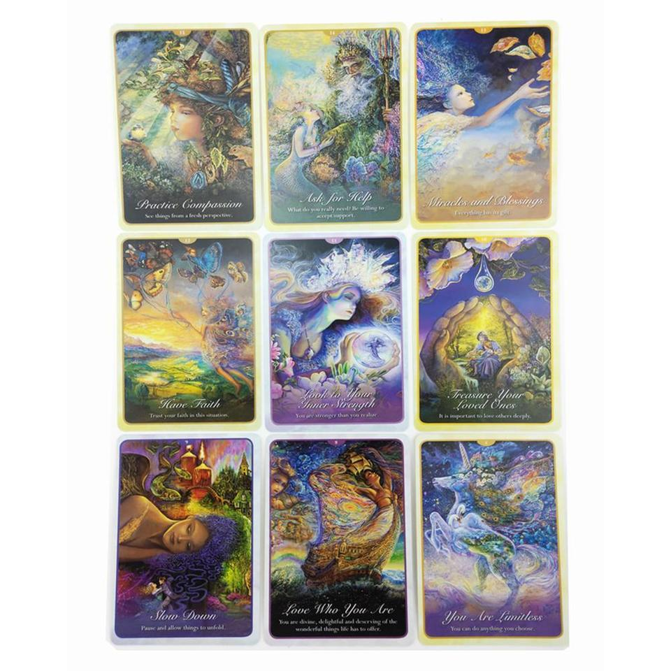 Game Of Love Sheets 50 sheets cards/sets whispers of love oracle cards english version playing  card tarot board game card