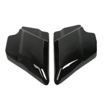 Motorcycle ABS Side Cover Panel For Harley Touring Street Glide Electra Road Glide 09-18 Vivid Black Left Right