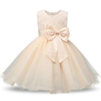 Princess Flower Girl Dress Summer Tutu Wedding Birthday Party Dresses For Girls Children's Costume Teenager Prom Designs 3