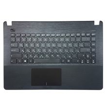 Laptop Keyboard Russian Asus for X450x450c/X450ca/X450cc/.. Black with Palmrest Upper-Cover
