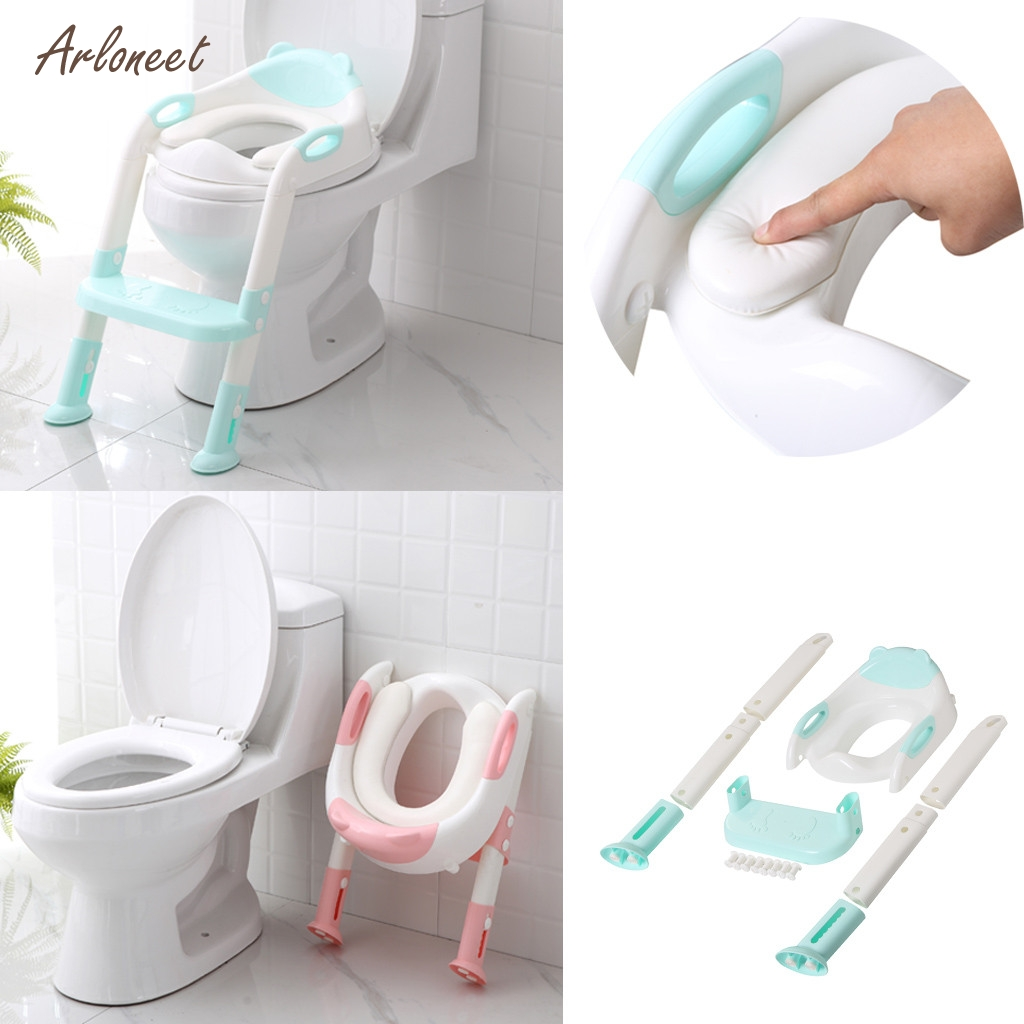 Children Baby Toddler Safety Toilet Training Potty Pee Trainer Seat Chair Kids