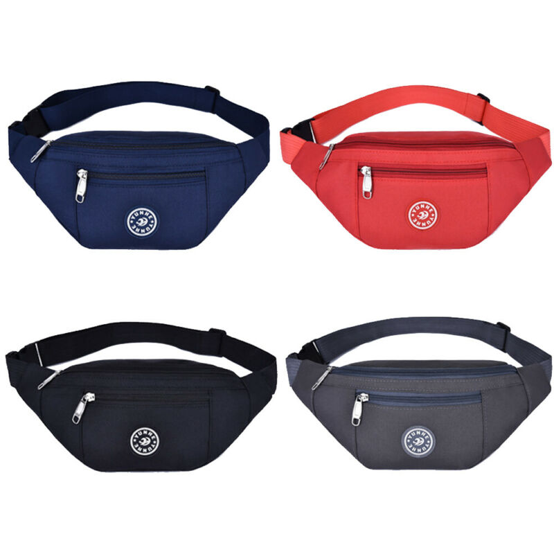 Sports Travel Bum Bag Money Waist Belt Fanny Pack HIP Money Pouch Pocket Wallet