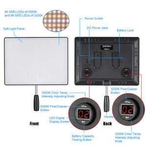 Image 4 - Yongnuo YN600 Không YN600 Siêu Mỏng Camera Video 3200K 5500K Studio Chụp Ảnh Đèn Điện AC adapter Dành Cho Máy Ảnh DSLR