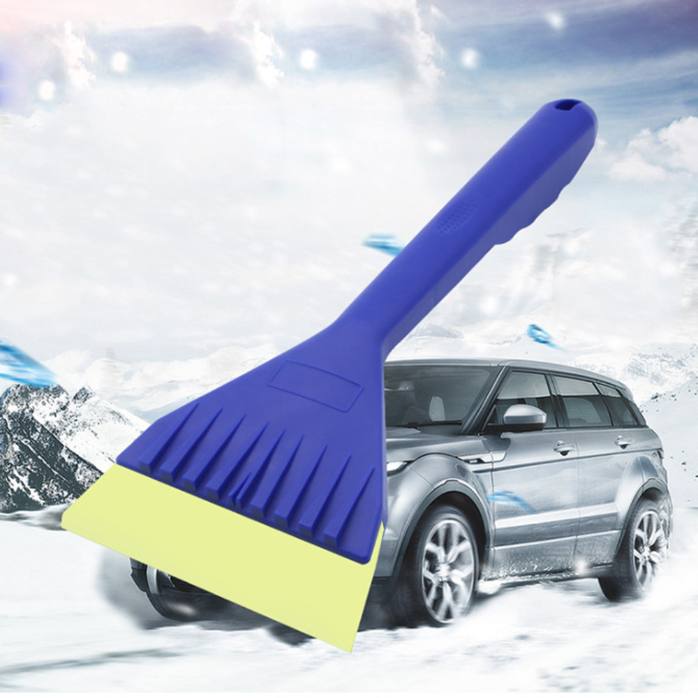 Lovely Portable Car Snow Shovel Winter Mini Auto Windscreen Snow Scraper Winter Snow Tool Portable Small Car Window Ice Removal Tool Factory Direct Selling Price