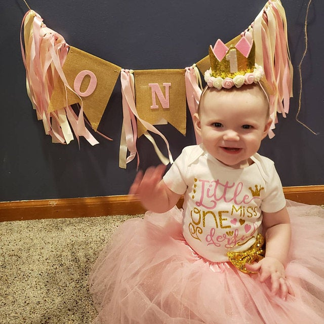 ONEderful Birthday Pink Gold Outfit 1st Birthday Party Girls Outfits Cake Smash Tutu+baby Bodysuits Summer Set Fashion Wear 5