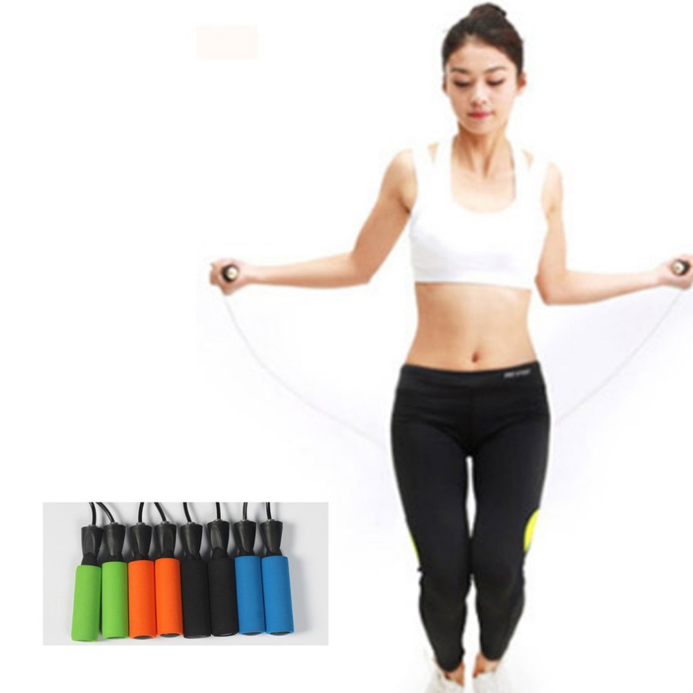 Adjustable Jump Ropes With Counter Sports Fitness  Fast Speed Counting Jump Skip Rope Skipping  Special Bearing